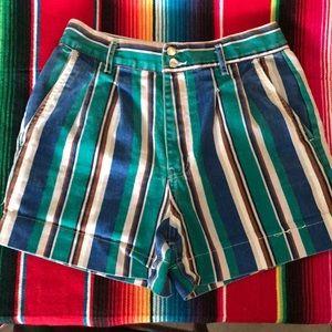 Vintage fall shorts